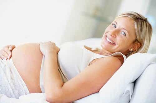 Graviditet efter en alder af 35