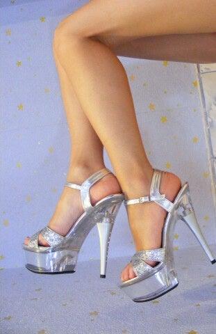 højehælede sko