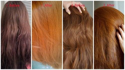 blå shampoo til brunt hår