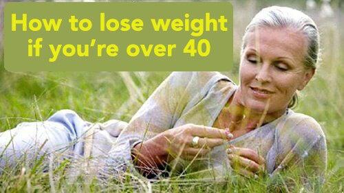 Vægttab over 40 - tips og tricks