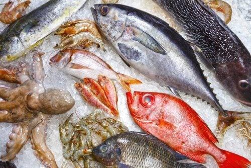 Fed fisk er en stor del af middelhavsdiæten