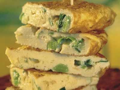 Omelet som sund morgenmad