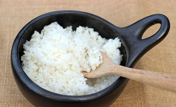 Du kan lave en ansigtsmaske med ris