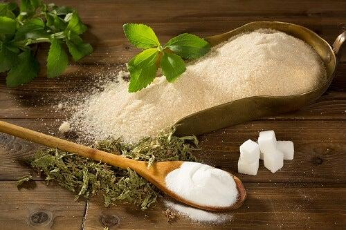 Brug stevia i stedet for sukker.