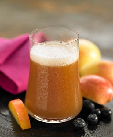 æble-kamillete