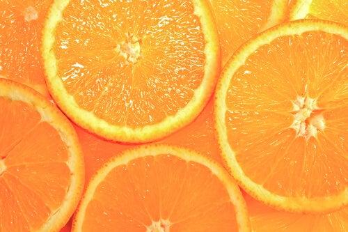 Appelsin i skiver