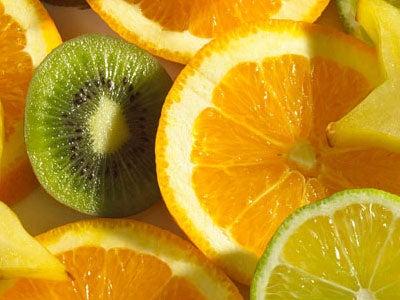 Citrus frugter