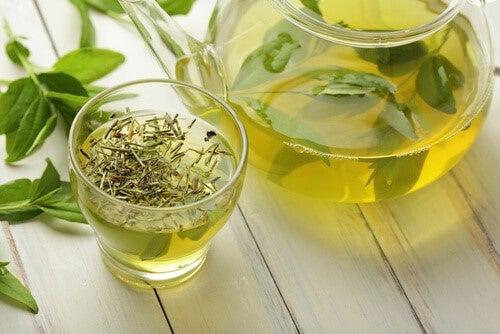 Grøn te er en fantastisk naturmedicin mod angst