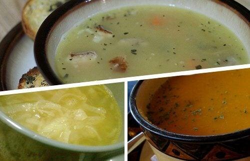 4 supper som forebygger forkølelse
