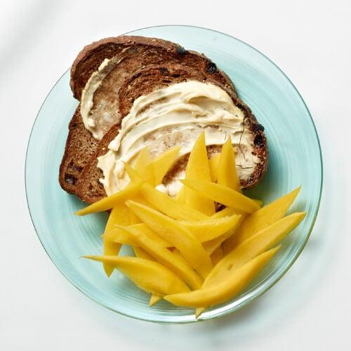 Toastbrød med mango