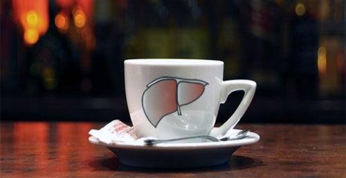 En kop kaffe