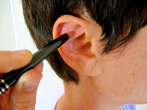 Du kan lindre stress ved at massere dit øre
