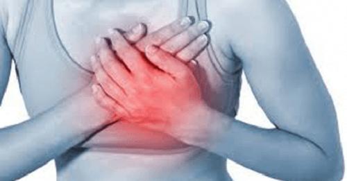 Kvinde med hjerteproblemer
