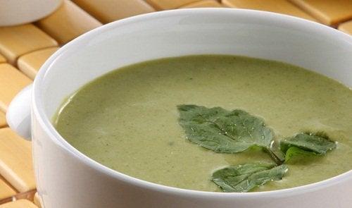 Brøndkarse suppe