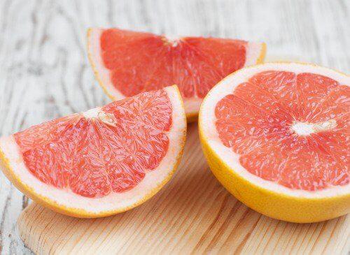 Grapefrugt - grapefrugtjuice
