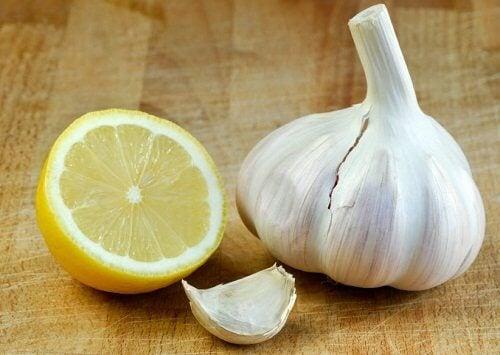 Hvidløg og citron kur