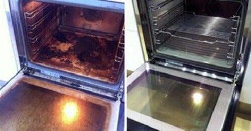Sådan rengør du din ovn med naturprodukter