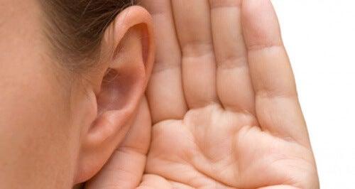 hylen for ørerne