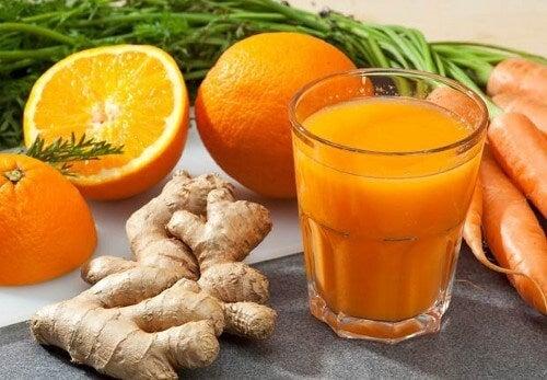 3 lækre og nærende typer frugtjuice til vægttab