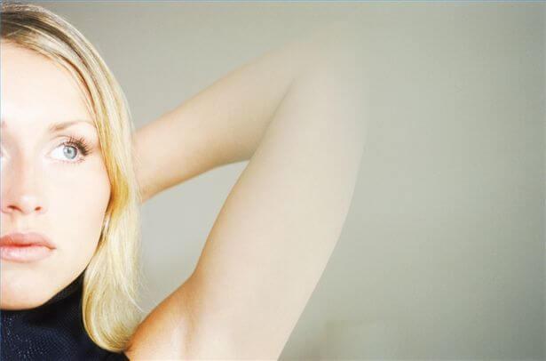 Blond kvinde