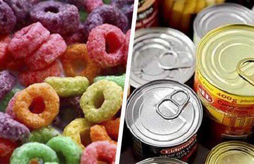 Forarbejdede fødevarer forårsager oppustet mave