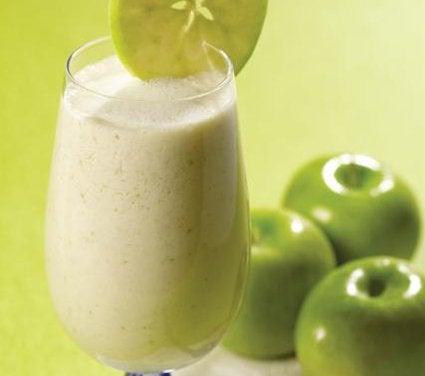groen aeble smoothie