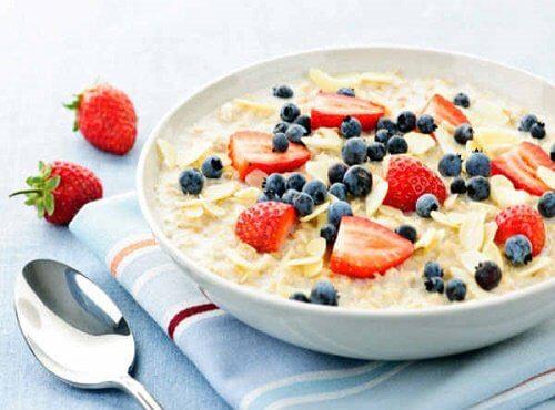 havregryn til morgenmad