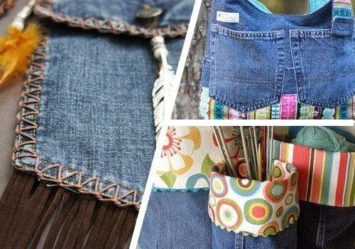 9 måder at genbruge dine gamle jeans på