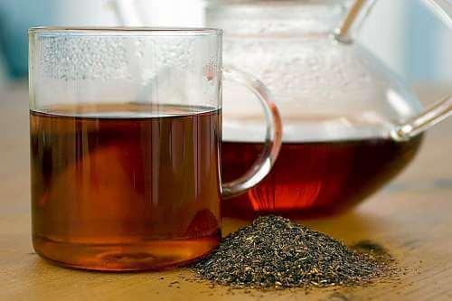 rød peber te