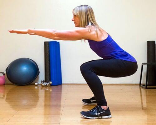 Squats giver stærke ben