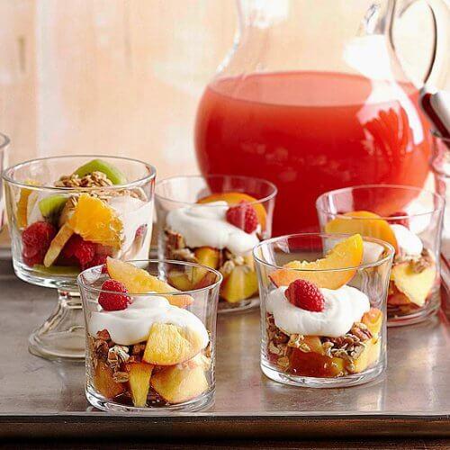 Yoghurt med frugt