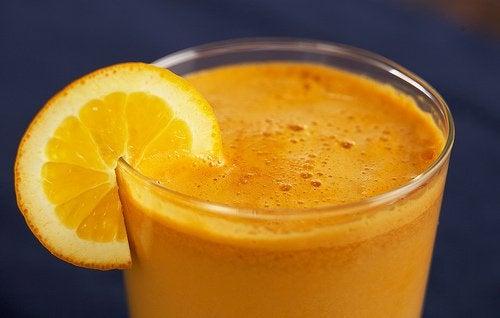 Appelsinjuice - smerten fra karpaltunnelsyndrom