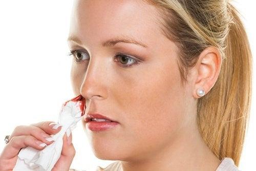 Naturmedicin der kan bekæmpe næseblod