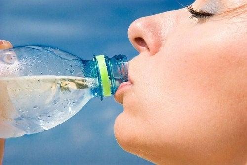 Vand på flaske er ikke bæredygtigt