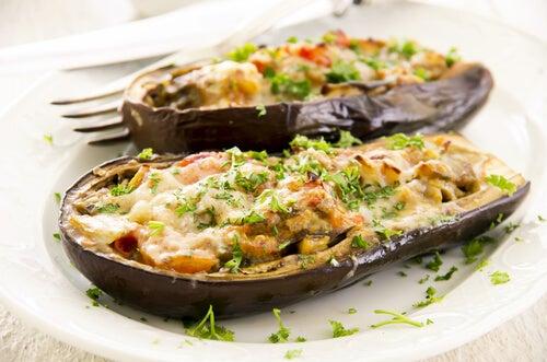 Fyldte auberginer er et lækkert og delikat måltid!