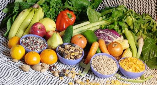 sunde frugter og grøntsager