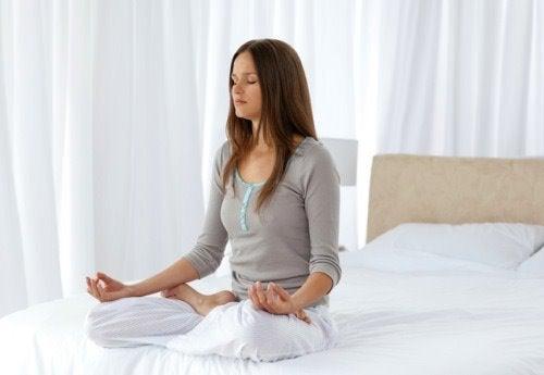 Du kan lære at slappe af ved at meditere