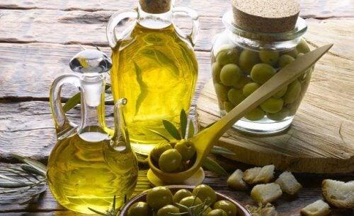 Ekstra jomfru olivenolie er smertelindrende.