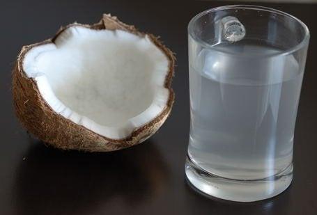 Din krop på kokosvand