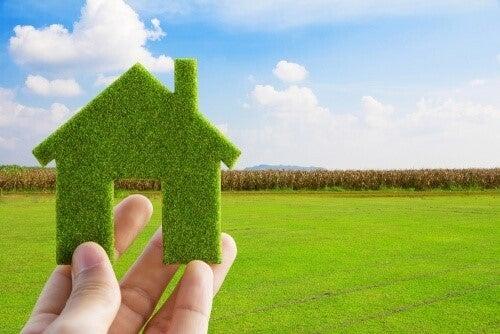 Groent hus