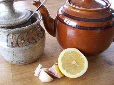 Hvidløg og citron