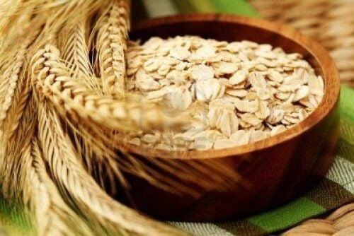 Brug korn til at fjerne uønsket hår