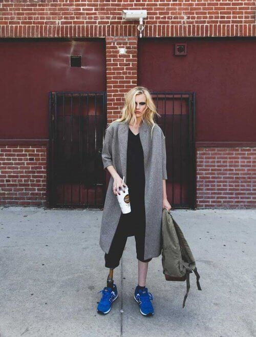 Lauren Wasser - en models ben blev amputeret