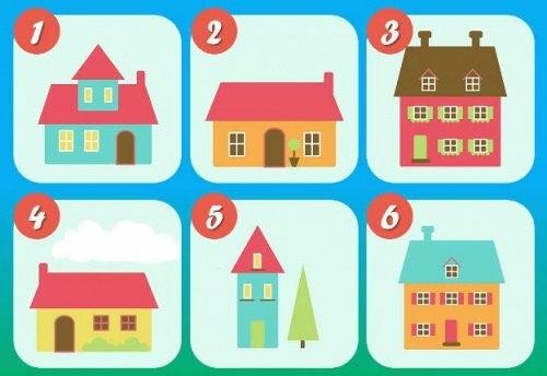 Testen med de seks huse