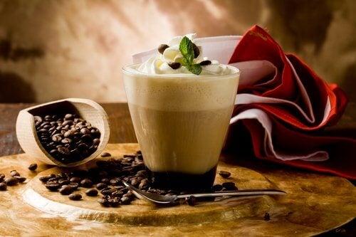 Kaffe til at bekæmpe træthed.