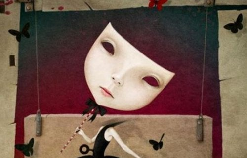 En maske - foelelsesmaessige vampyrer