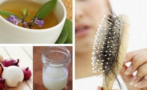 De bedste 5 hjemmebehandlinger for hårtab