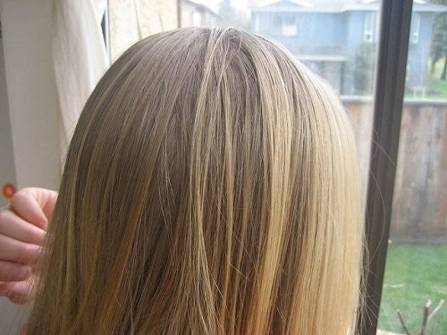 naturlig lysning af hår