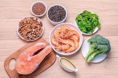 Foedevarer med sunde fedtstoffer