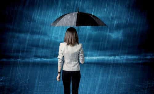 Det er normalt at føle sig modløs, men ikke at være pessimistisk